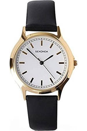 Sekonda Unisex Adult Analogue Classic Quartz Watch with PU Strap 3136.27