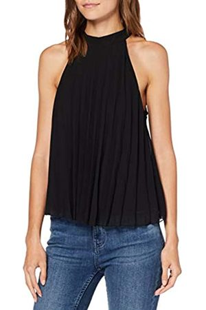 New Look Women's Halter Pleated Blouse
