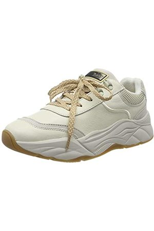 SCOTCH & SODA FOOTWEAR Women's Celest Trainers, (Cream S14)