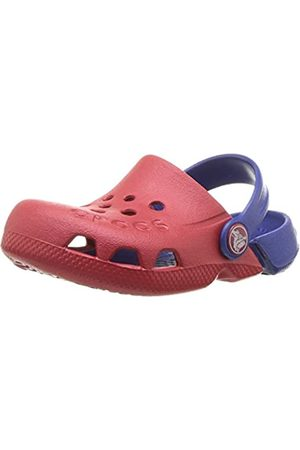 Crocs Unisex Kids' Electro Clogs, (Pepper/Cerulean )