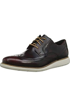 Rockport Men's Total Motion Sport Dress Wingtip Brogue, ( Cherry 002)
