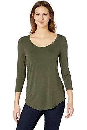 Amazon 3/4 Sleeve Scoopneck Tunic Shirt