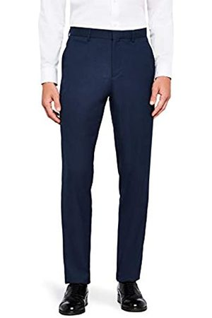 FIND Amazon Brand - Men's Slim Fit Formal Trousers