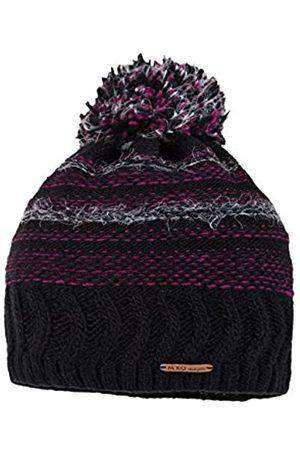 maximo Girl's Beanie mit Pompon, gerippt Hat
