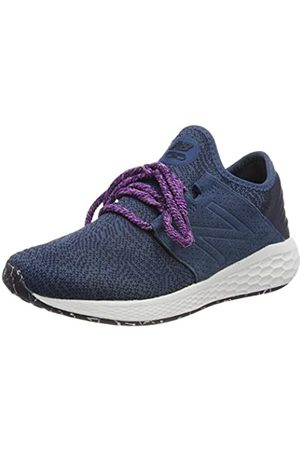 New Balance Women's Fresh Foam Cruz v2 Silent Rave pack Running Shoes, (Eclipse)