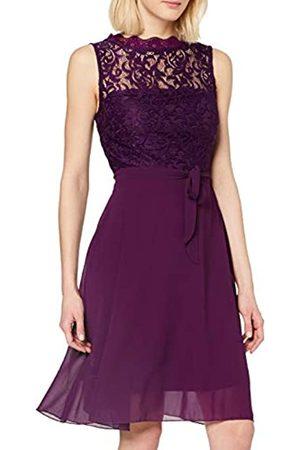 iNTiMUSe Women's Sigi Knee-Length Plain A-Line Sleeveless Dress