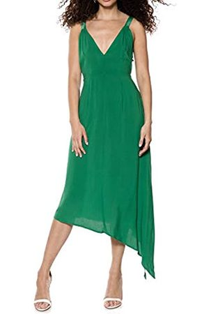 Ivyrevel Women's Asymmetric D Ring Dress Party (Verdant 344)