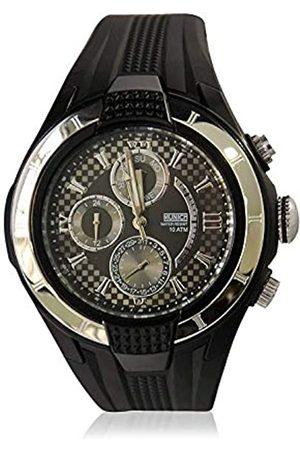 Munich Unisex Adult Analogue Quartz Watch with Rubber Strap MU+116.1A