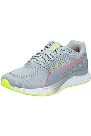 Puma Women's Speed SUTAMINA WNS Running Shoes, Quarry- Alert- Alert