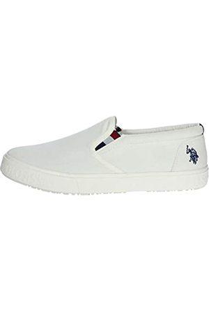 U.S.POLO ASSN. US Polo Association Men's Joshua Gymnastics Shoes, (WHI 001)
