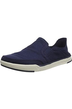 Clarks Men's Step Isle Row Loafers, (Navy Canvas Navy Canvas)
