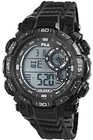 Fila Unisex Adult Digital Quartz Watch with PU Strap 38-826-003