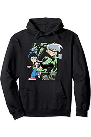 Nickelodeon Danny Phantom With Both Danny And Phantom Pullover Hoodie