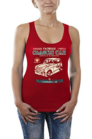 Touchlines Women's Classic Car Renault R4 Youngtimer Tops