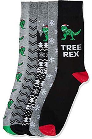 FIND Men's Fnd0199lm socks (Pack of 5)