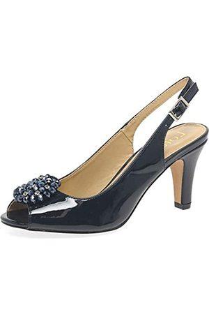 Lotus Women's Elodie Open Toe Heels, (Navy De)