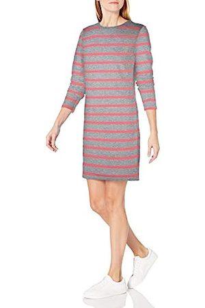 Amazon Crewneck Long-Sleeve French Terry Fleece Above-The-Knee Dress Sweatshirt