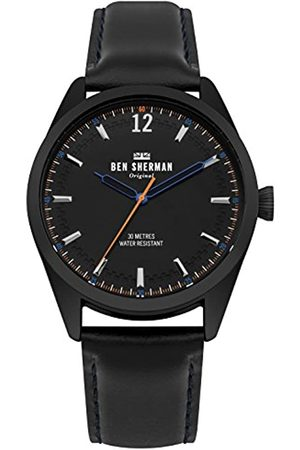 Ben Sherman Mens Analogue Classic Quartz Watch with Leather Strap WB019BB
