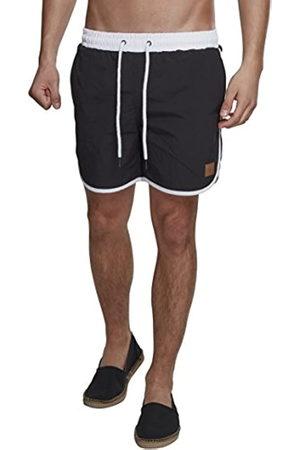 Urban classics Men's Retro Swimshorts Shorts