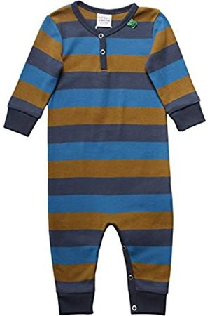 Fred's World by Green Cotton Baby Boys' Multi Stripe Bodysuit Shaping
