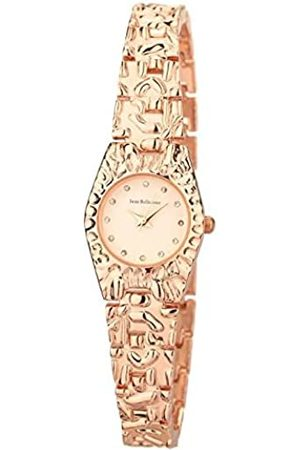 Jean Bellecour Unisex-Adult Analogue Classic Quartz Watch with Stainless Steel Strap REDS23-RGW