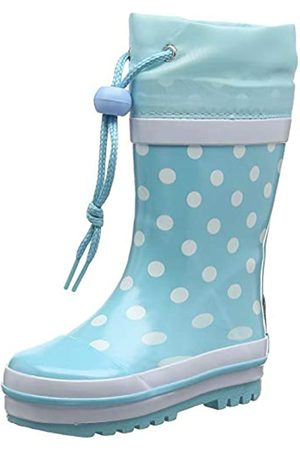 Playshoes Girl's Wellies Rain Boot Dotted Wellington Rubber