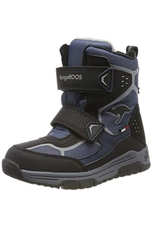 KangaROOS Unisex Kids' K-Trooper V RTX Snow Boots, (Dk Navy/Vapor 4075)