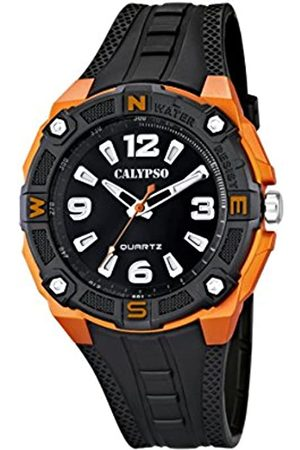 Calypso Men's Quartz Watch with Dial Analogue Display and Plastic Strap K5634/2