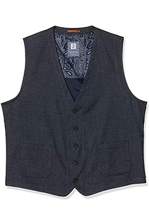 Calamar Men's Sakkoweste Mit Dezenten Muster Waistcoat