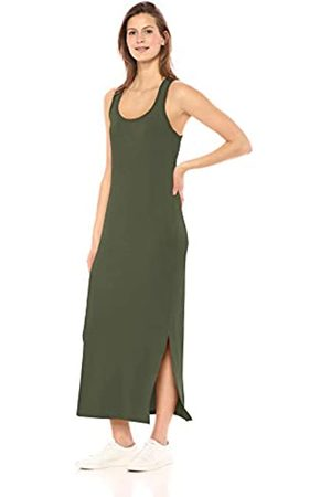 Daily Ritual Women's Supersoft Terry Racerback Maxi Dress