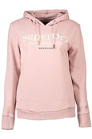 Superdry Women's Applique Serif Hood Hoodie