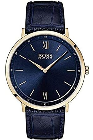Hugo Boss Mens Analogue Quartz Watch with Leather Strap 7613272299879