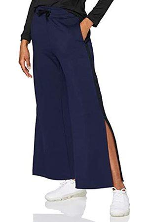 AURIQUE Amazon Brand - Women's Side Stripe Sports Trousers, 8