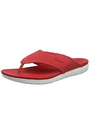 Fitflop Women's MESH Alana Toe Post Open Sandals, (Passion 695)