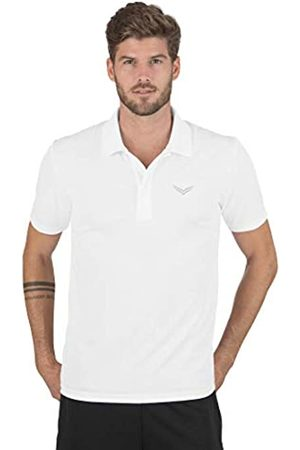 Trigema Men's Polo Shirt Weiß (weiss 001) X-Large