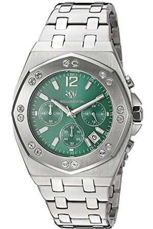 Wellington Darfield Men's Quartz Watch with Dial Chronograph Display and Stainless Steel Bracelet WN511-191