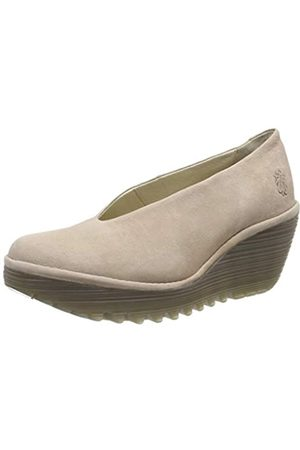 Fly London Women's YAZ Closed Toe Heels, (Concrete 231)