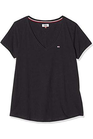 Tommy Jeans Women's TJW Soft Jersey V-Neck TEE Sports Knitwear