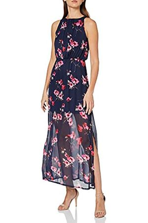 Mela Women's Floral High Neck Maxi Dress Casual