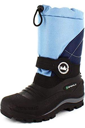 Spirale Unisex Kids' Sascha Snow Boots, (Blau 023)