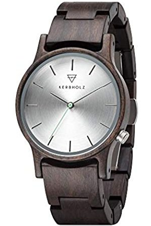 Kerbholz Unisex Adult Analogue Quartz Watch with Wood Strap 4.25124E+12