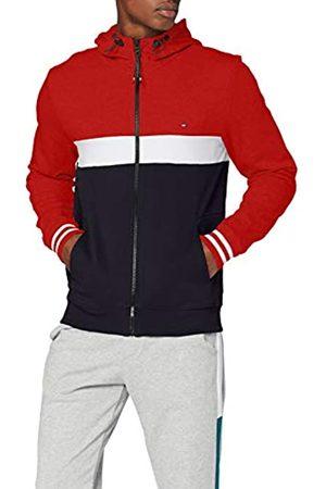 Tommy Hilfiger Men's Colorblocked Hooded Zip Through Sweatshirt