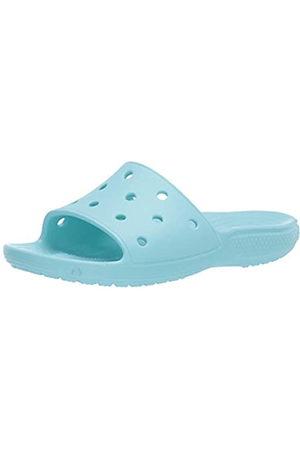 Crocs Unisex Adult's Classic Slide Open Toe Sandals, (Ice 4o9)