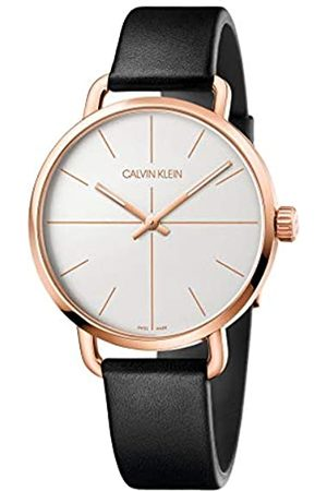 Calvin Klein Unisex Adult Analogue-Digital Quartz Watch with Leather Strap K7B216C6