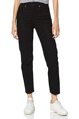SELECTED FEMME Women's Slffrida Hw Mom Lash Jeans W Noos Straight
