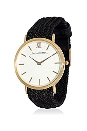 Andreas Osten Unisex Adult Analogue Quartz Watch with Textile Strap AO-215