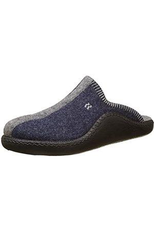 Romika Unisex Adults' Mokasso 62 Open Back Slippers, (Jeans-Kombi 541)
