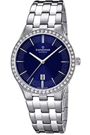 Candino Womens Analogue Classic Quartz Watch with Stainless Steel Strap C4544/2