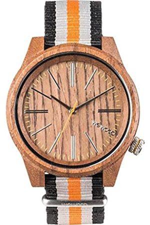 WeWood Mens Analogue Quartz Watch with Nylon Strap WW50002
