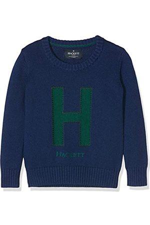 Hackett London Boy's H Crew Cardigan (Indigo 561) 134/140 (size: 9-10 Years)